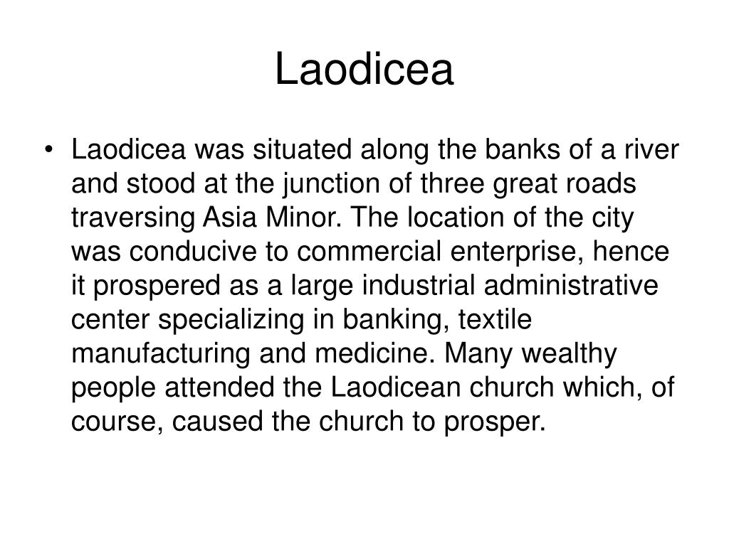 Laodicea