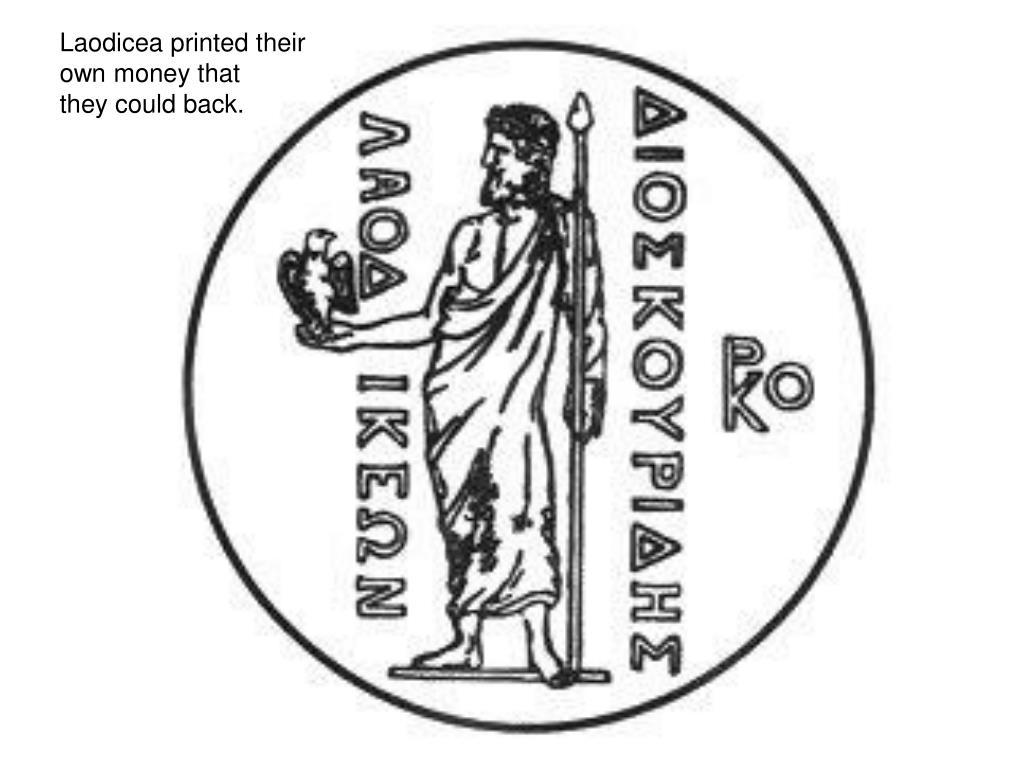 Laodicea printed their