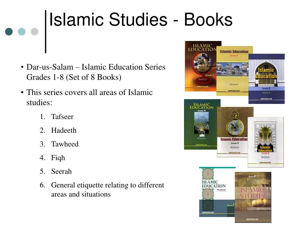 Islamic Studies - Books