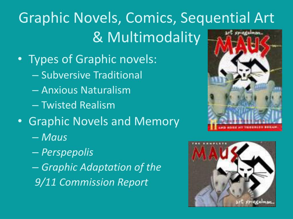 Graphic Novels, Comics, Sequential Art & Multimodality