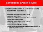 continuous growth review4