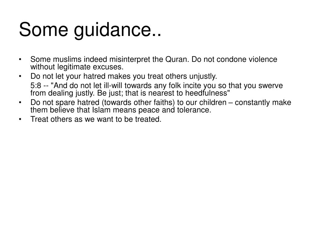 Some guidance..