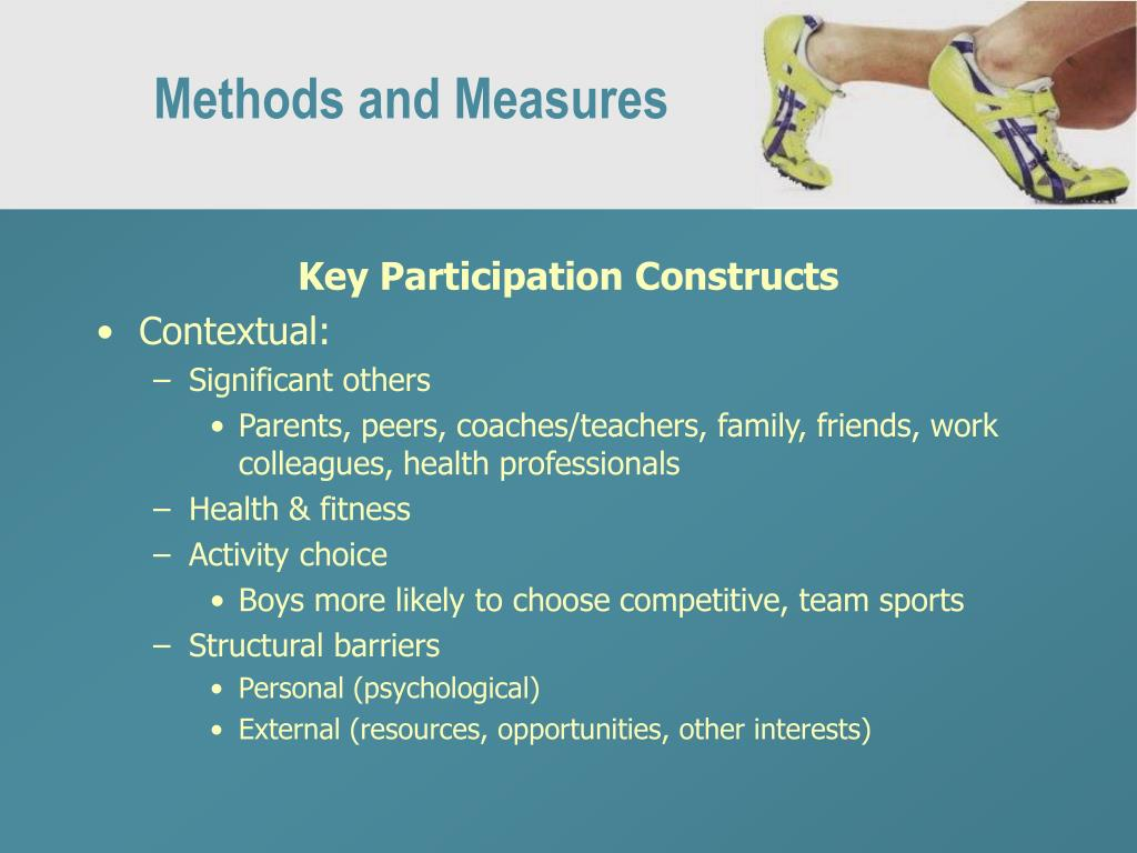 Methods and Measures