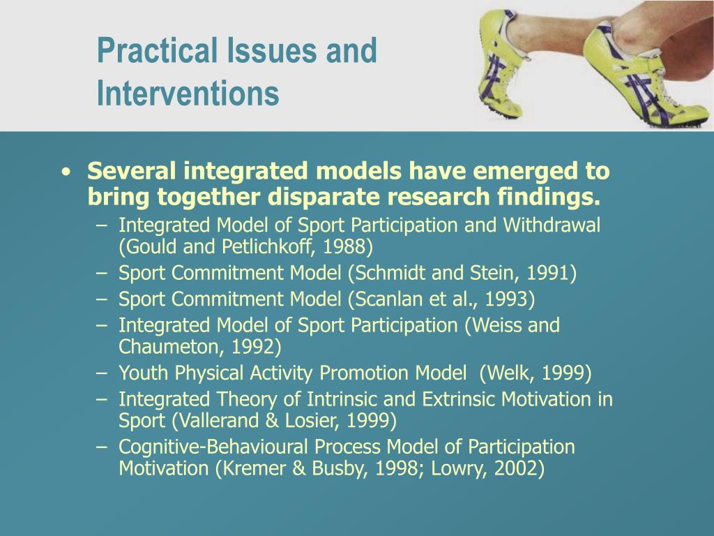 Practical Issues and Interventions