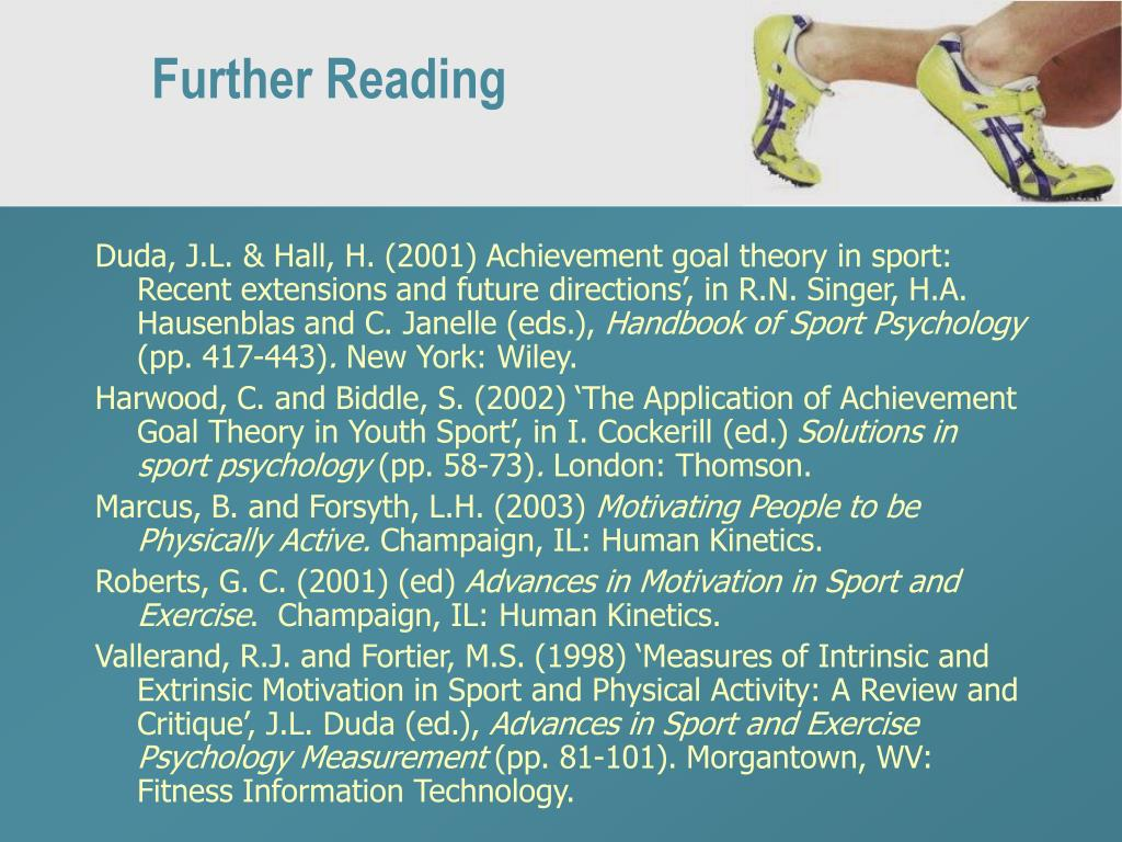 Further Reading