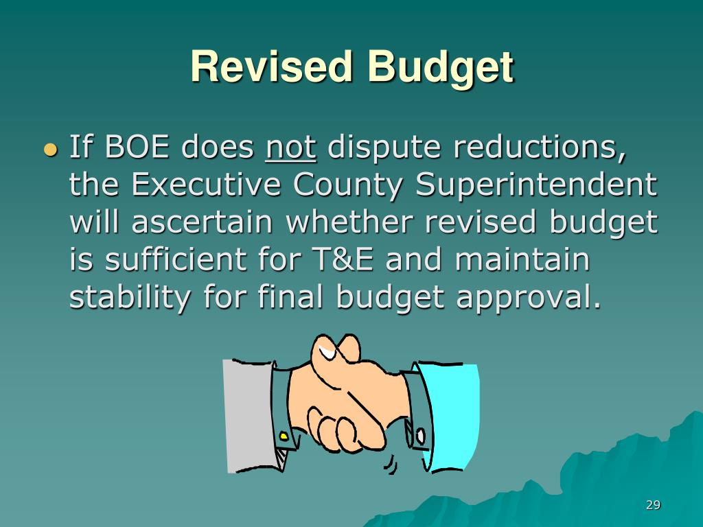 Revised Budget