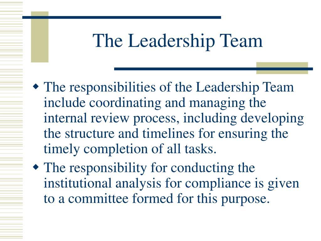 The Leadership Team