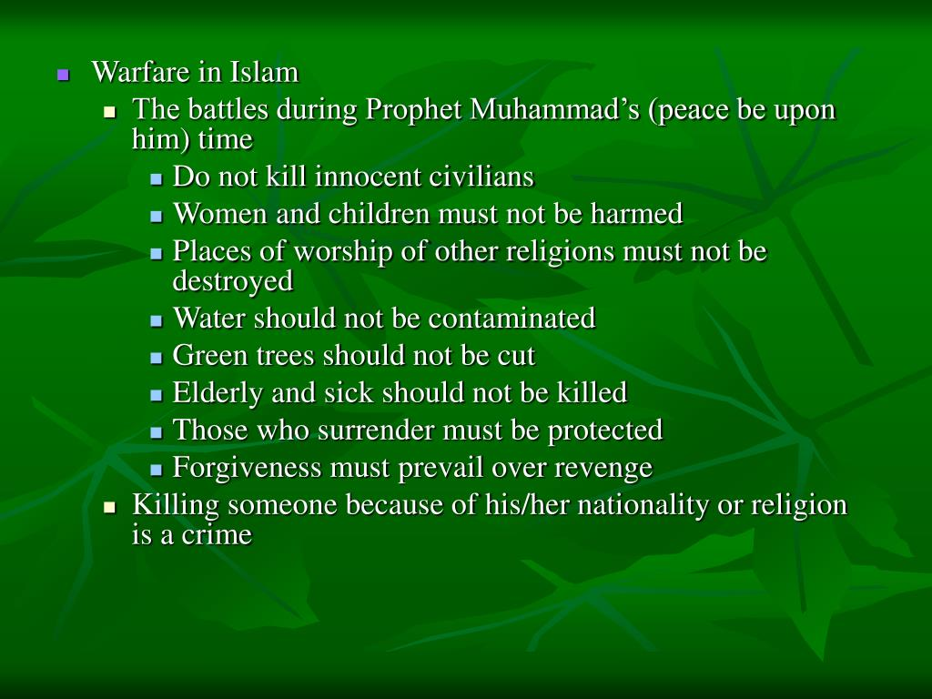 Warfare in Islam