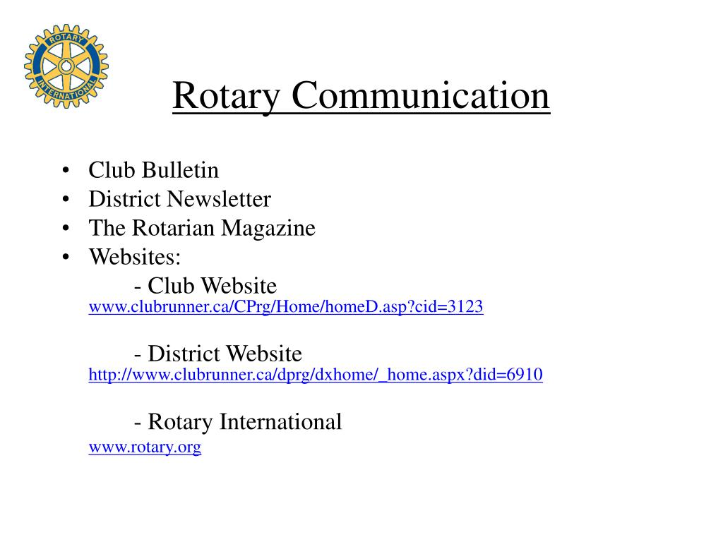Rotary Communication