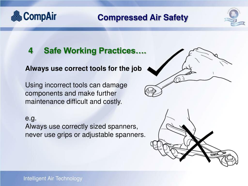 4	Safe Working Practices….