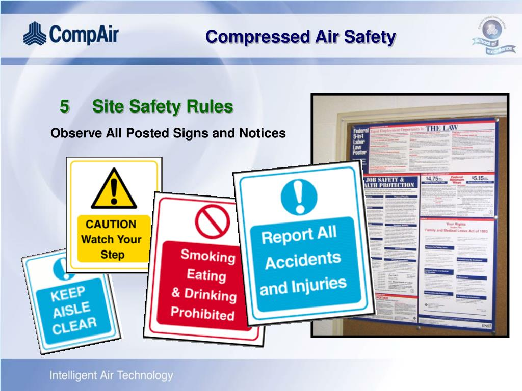 5	Site Safety Rules