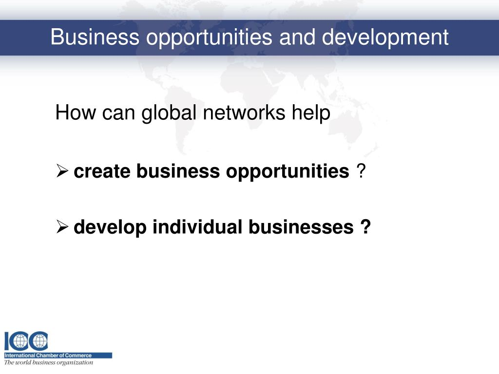 How can global networks help