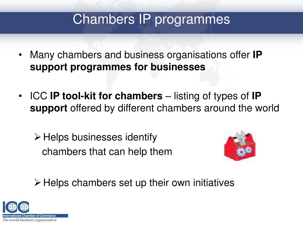 Many chambers and business organisations offer