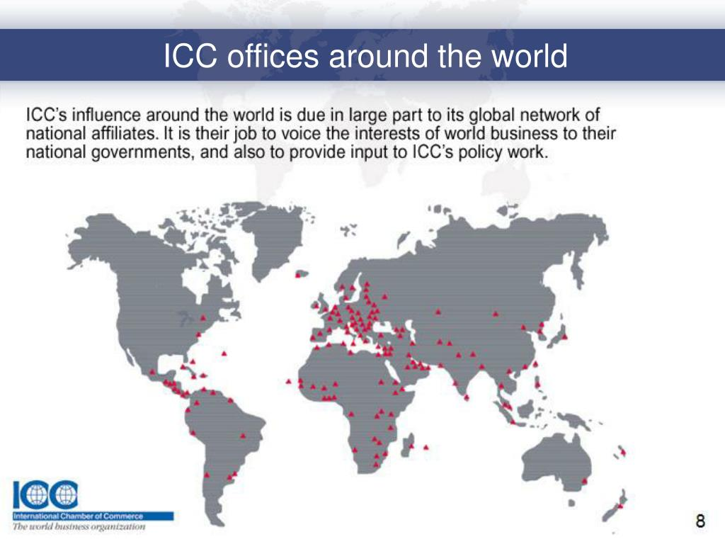ICC offices around the world