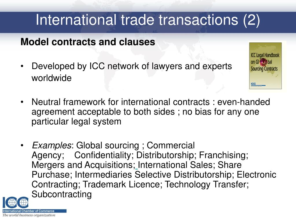 Model contracts and clauses