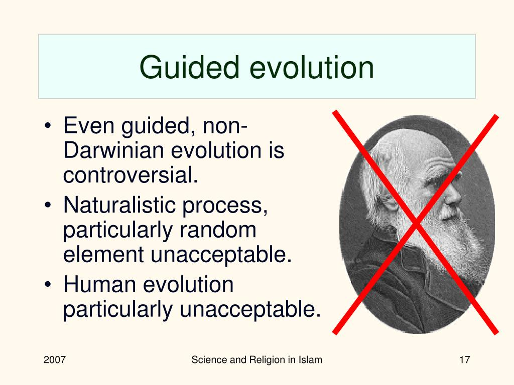 Guided evolution