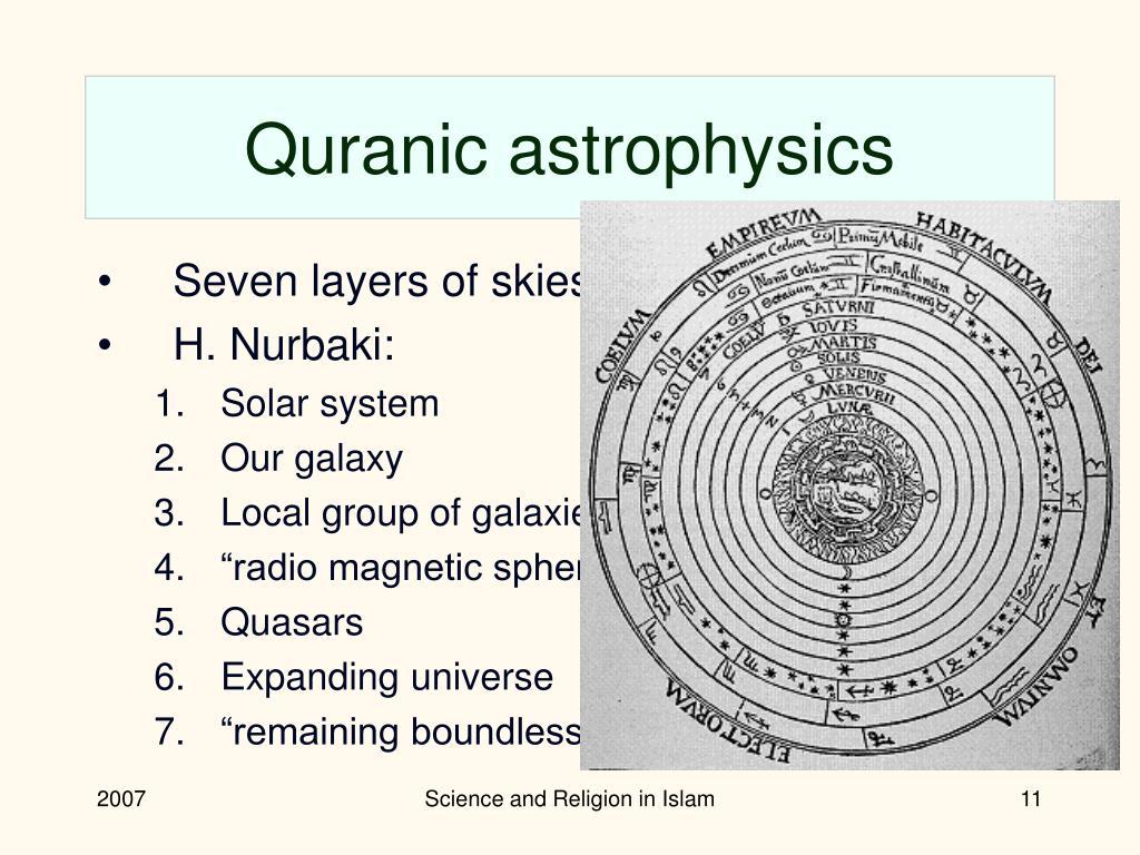 Quranic astrophysics