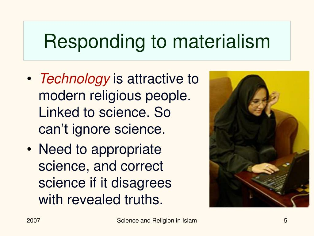 Responding to materialism