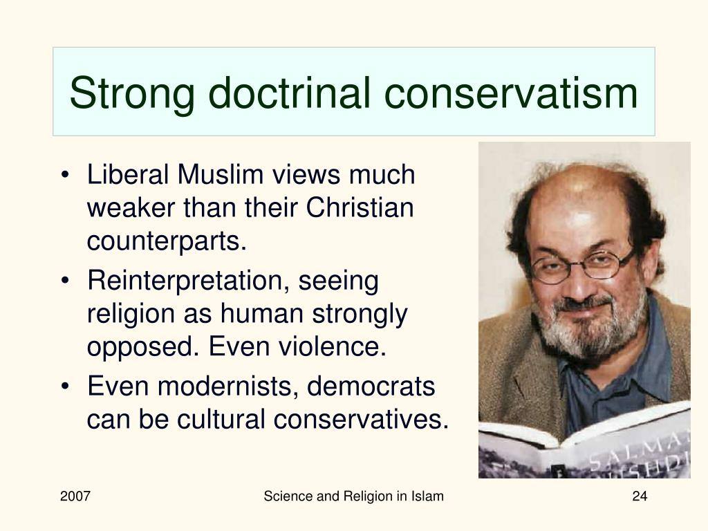Strong doctrinal conservatism