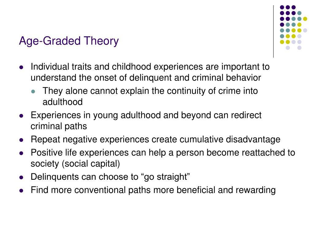 Age-Graded Theory