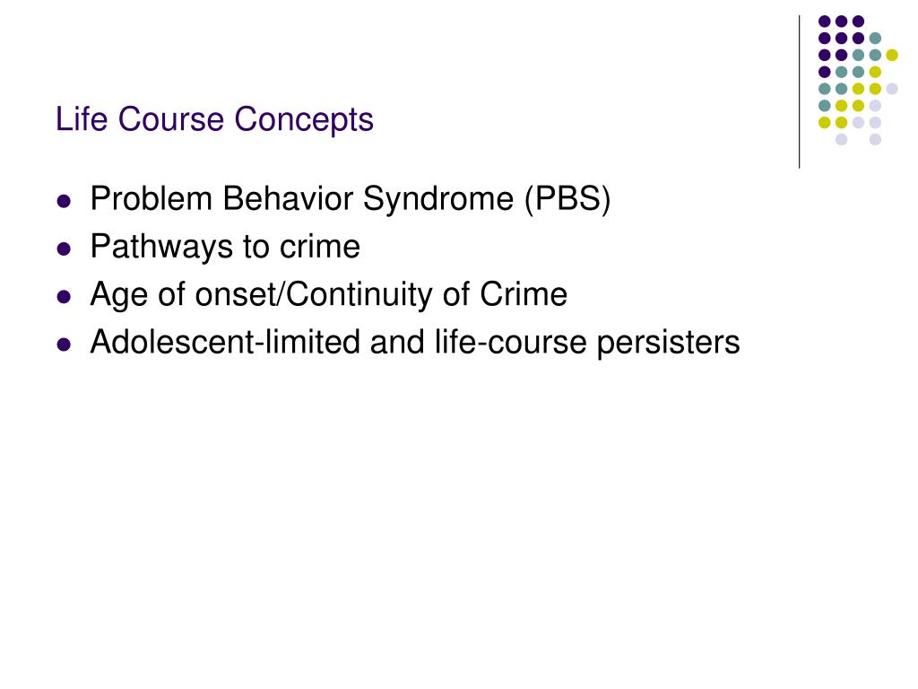 Life Course Concepts