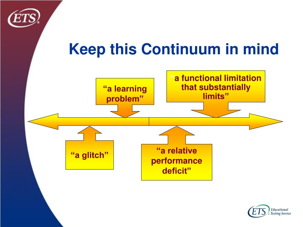 Keep this Continuum in mind