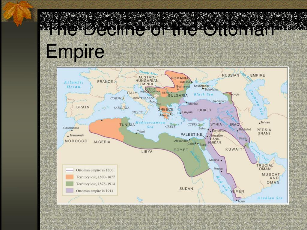 decline of the ottoman empire These attempts were largely unsuccessful, and by world war i the empire was in  full decline the ottoman empire fought against great britain,.