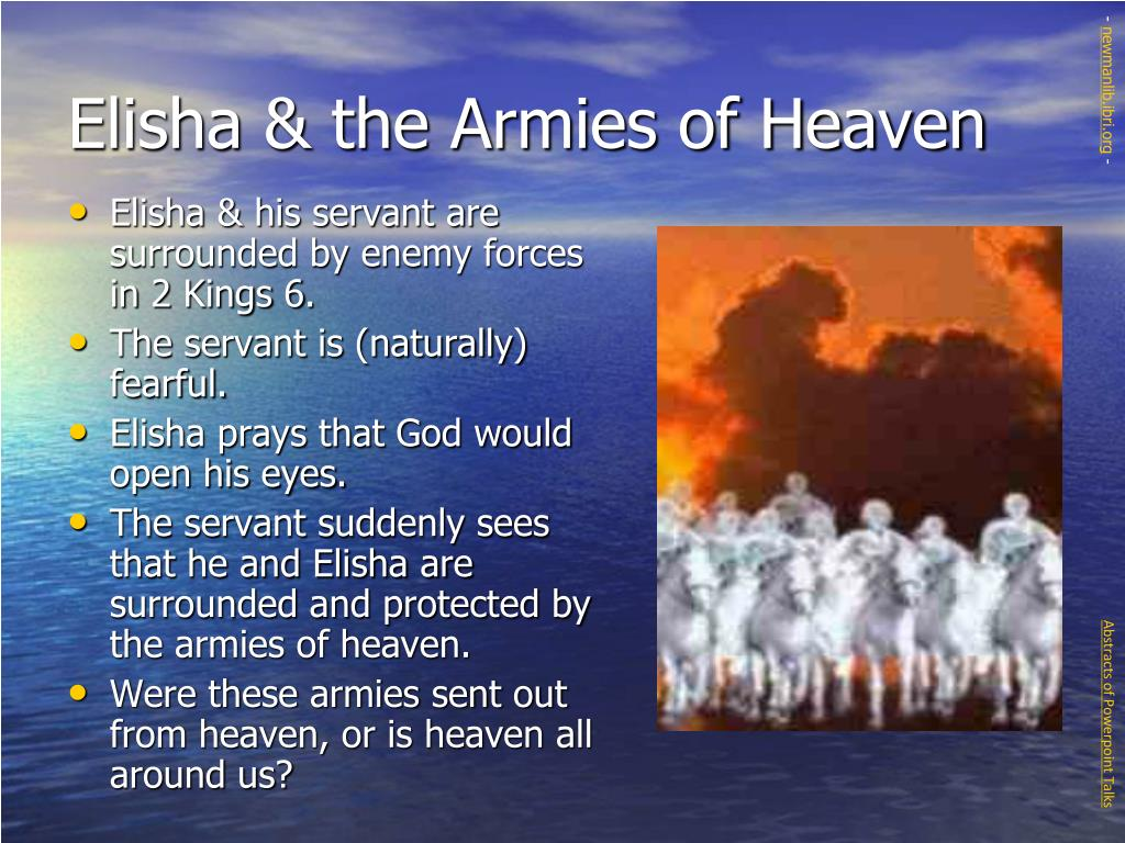 Elisha & the Armies of Heaven