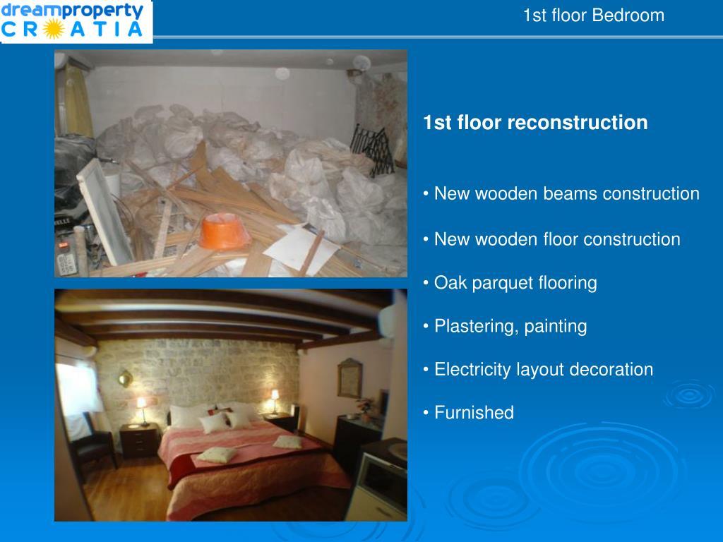 1st floor Bedr
