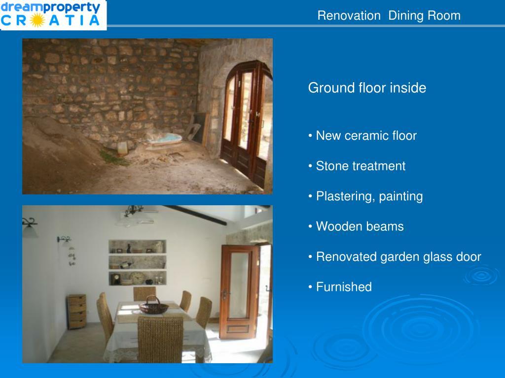 Renovation  Dining