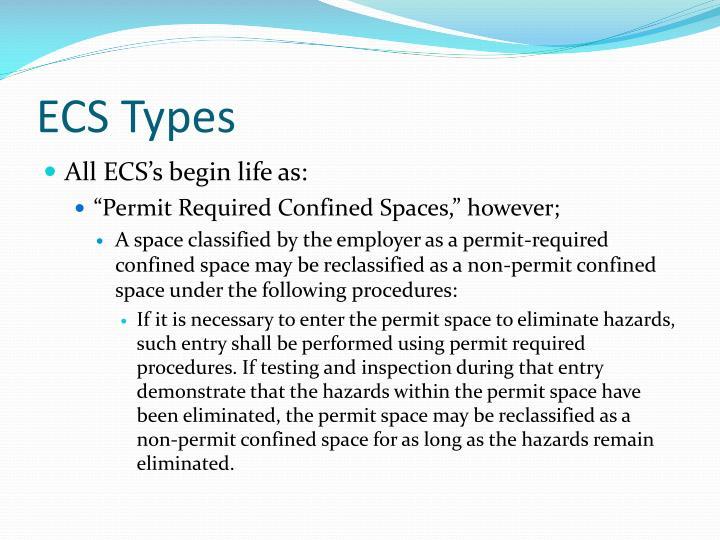 ECS Types