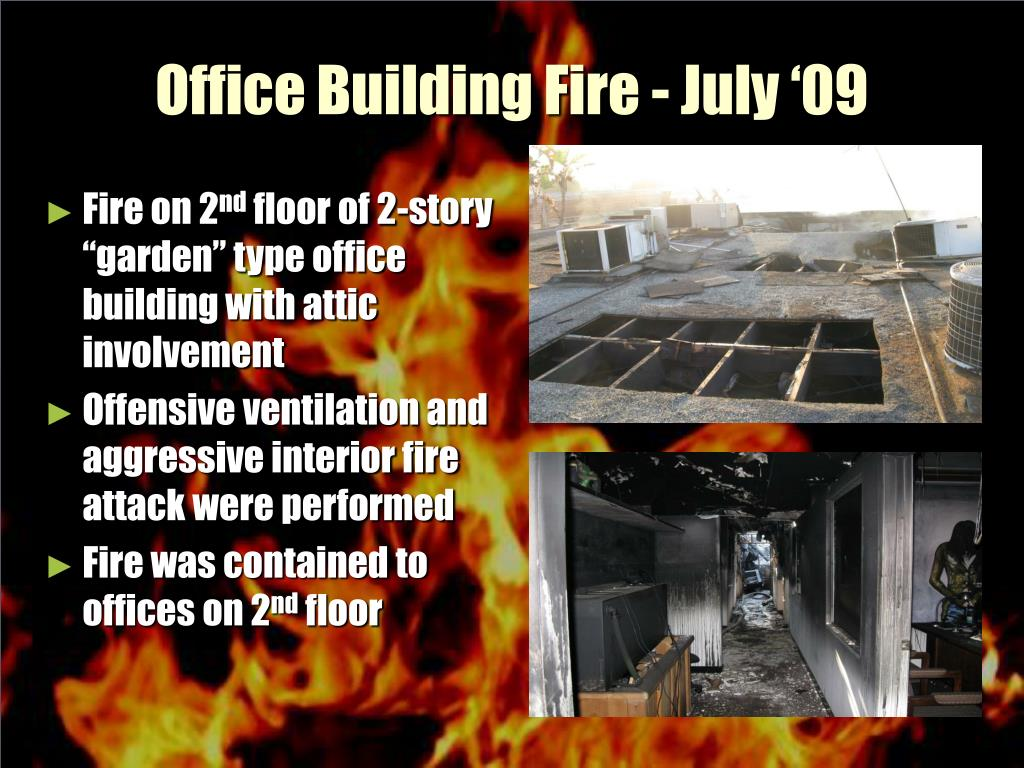 Office Building Fire - July '09