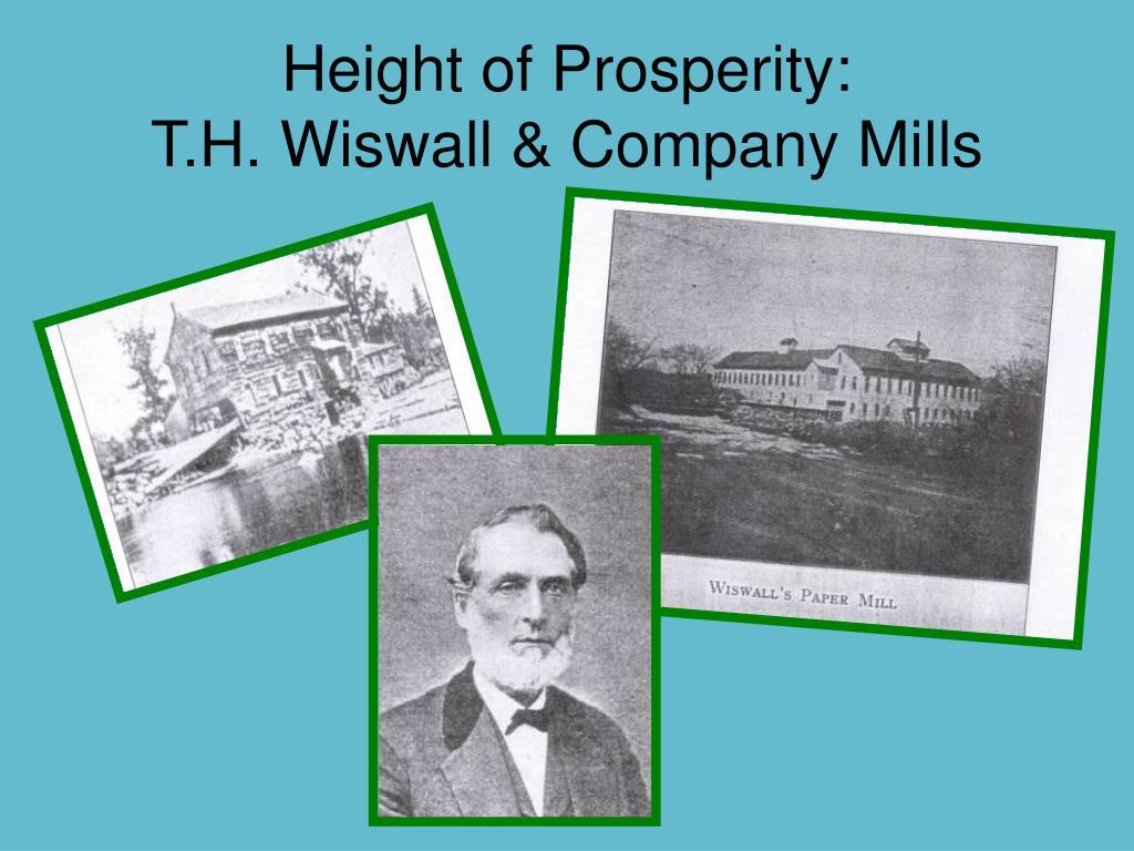 Height of Prosperity: