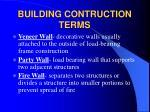 building contruction terms16