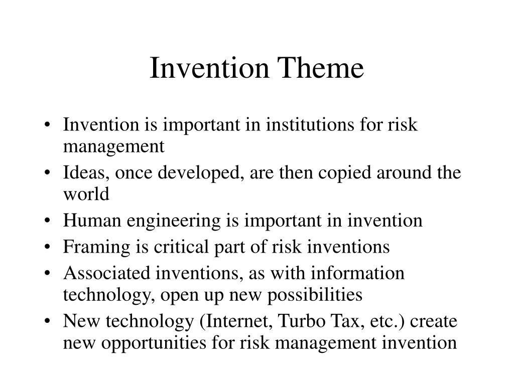 Invention Theme