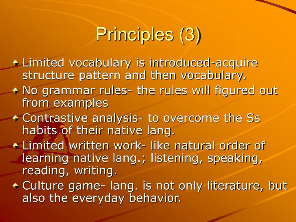 Principles (3)
