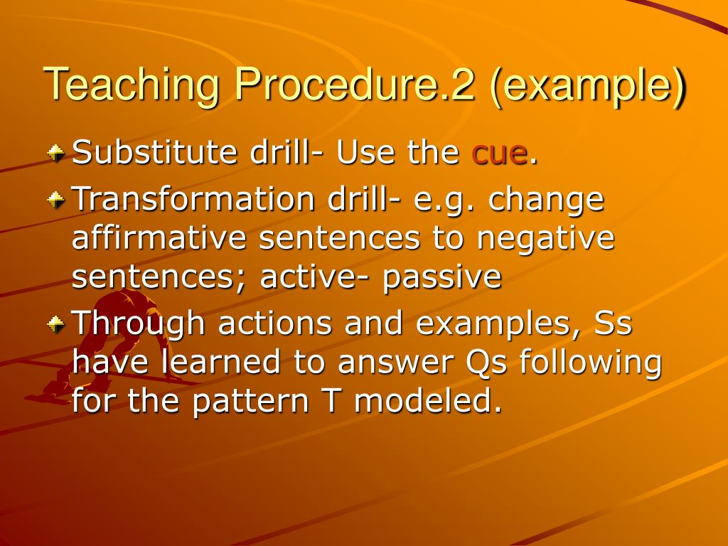Teaching Procedure.2 (example)