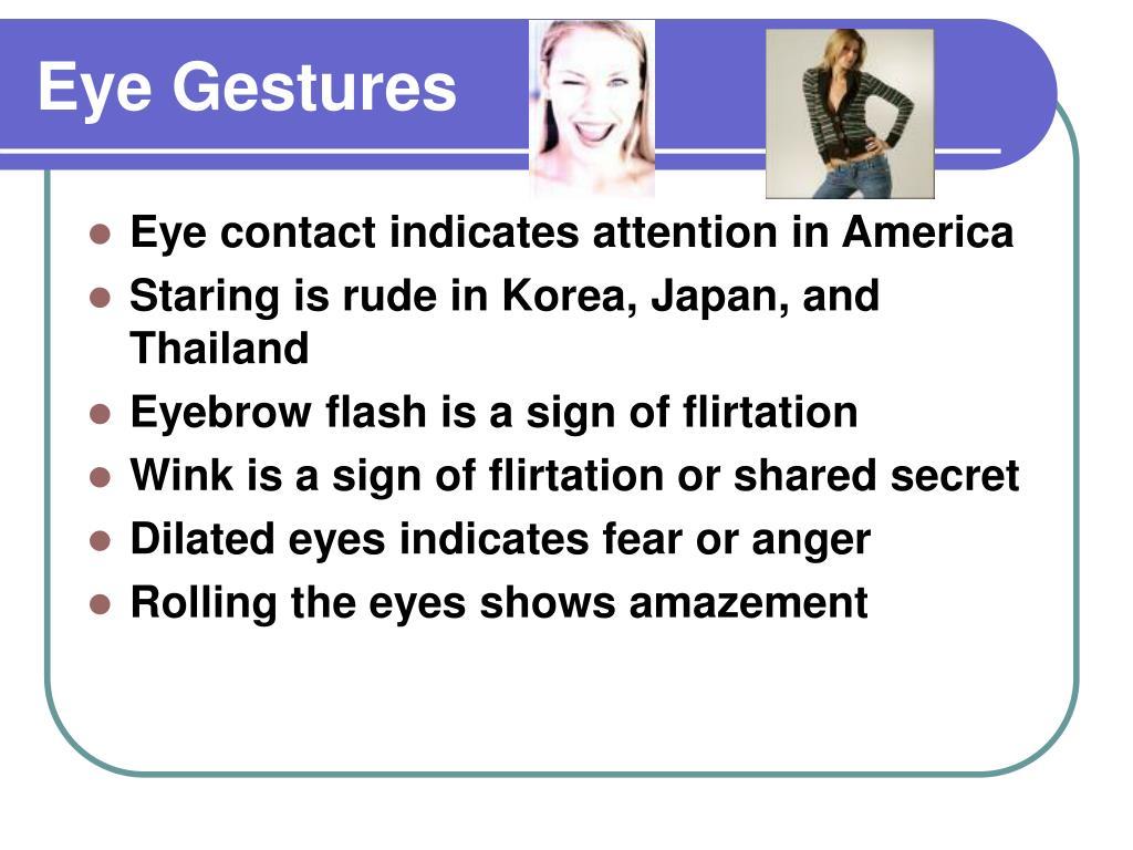 Eye Gestures