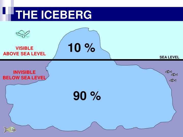 THE ICEBERG