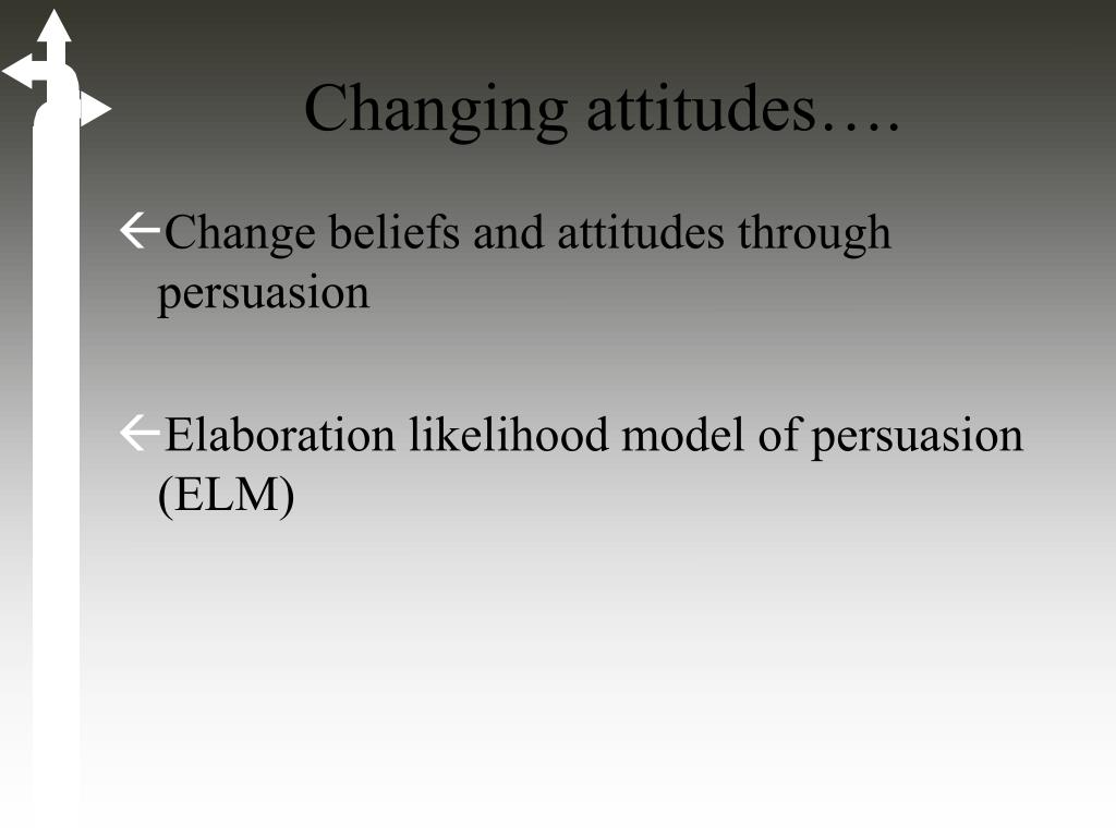 theories of attitude formation and change pdf