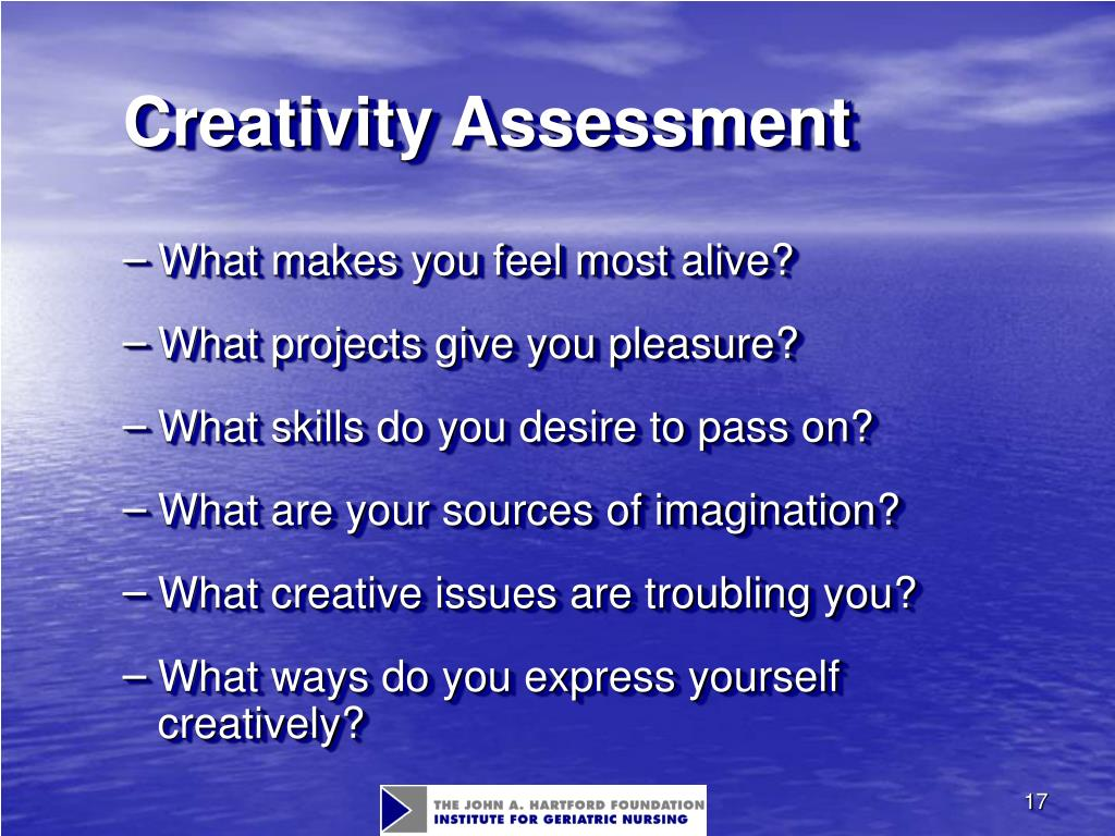 Creativity Assessment
