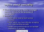 myths about sexuality21