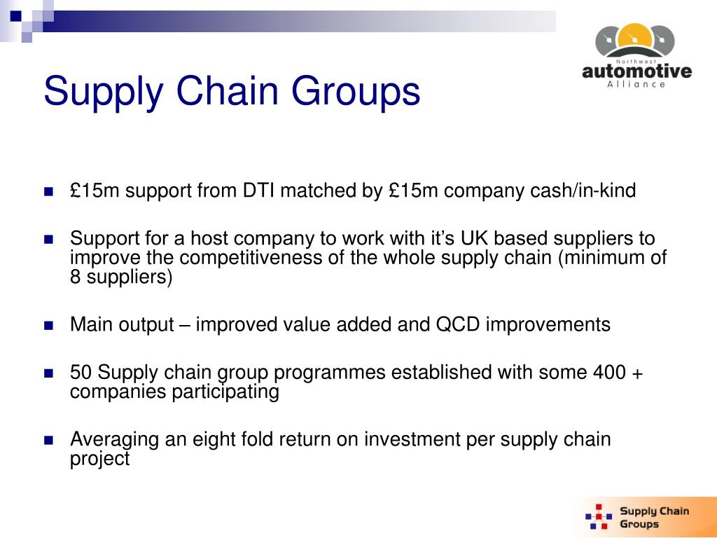 Supply Chain Groups
