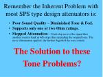 remember the inherent problem with most sps type design attenuators is