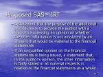 proposed sas irt59