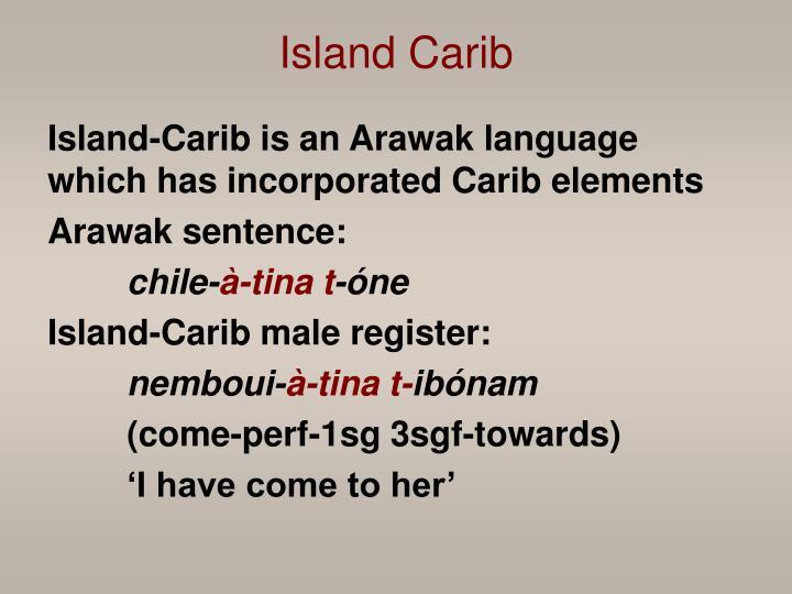 Island Carib