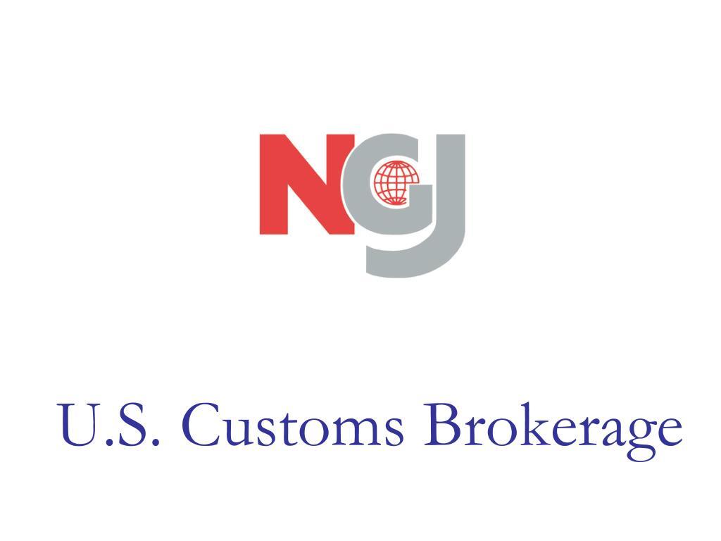 u s customs brokerage