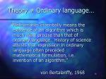 theory ordinary language16