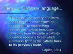 theory ordinary language17