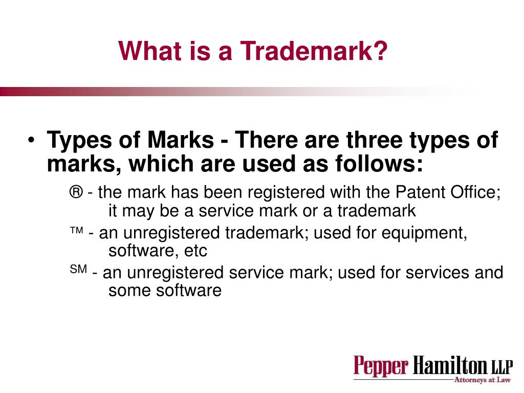 What is a Trademark?